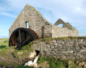 Cornaig Waterwheel